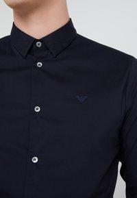 Emporio Armani - Formal shirt - dark blue - 5