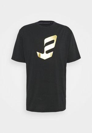 EMBIID MINE TEE - Print T-shirt - black