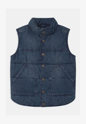 BOYS PUFFER - Väst - blue denim
