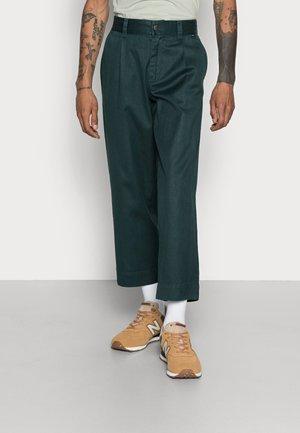 MIXED BUSINESS SUIT PANT - Pantalones - bottle