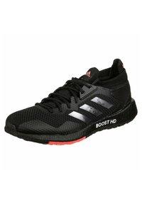 adidas Performance - PULSEBOOST - Zapatillas de running estables - core black / night metallic / signal pink - 2