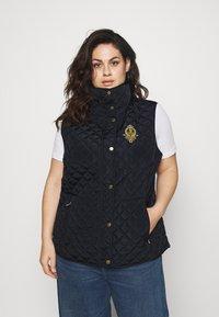Lauren Ralph Lauren Woman - INSULATED VEST - Waistcoat - navy - 0