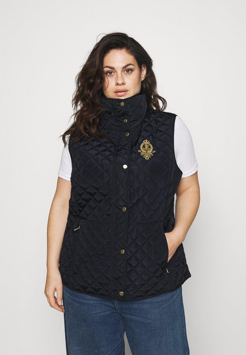 Lauren Ralph Lauren Woman - INSULATED VEST - Waistcoat - navy