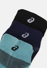 ASICS - LYTE 3 PACK UNISEX - Sports socks - performance black/peacoat/smoke blue - 1