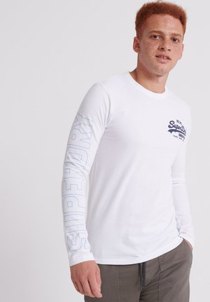 LINEAR  - Long sleeved top - white