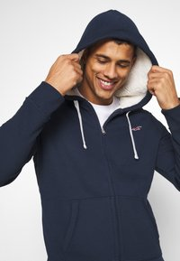 Hollister Co. - Zip-up hoodie - navy - 3