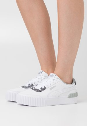 CARINA LIFT SNAKE - Sneakers basse - white