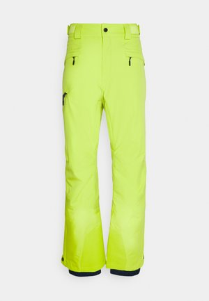 KICK TURN PANT - Snow pants - bright chartreuse