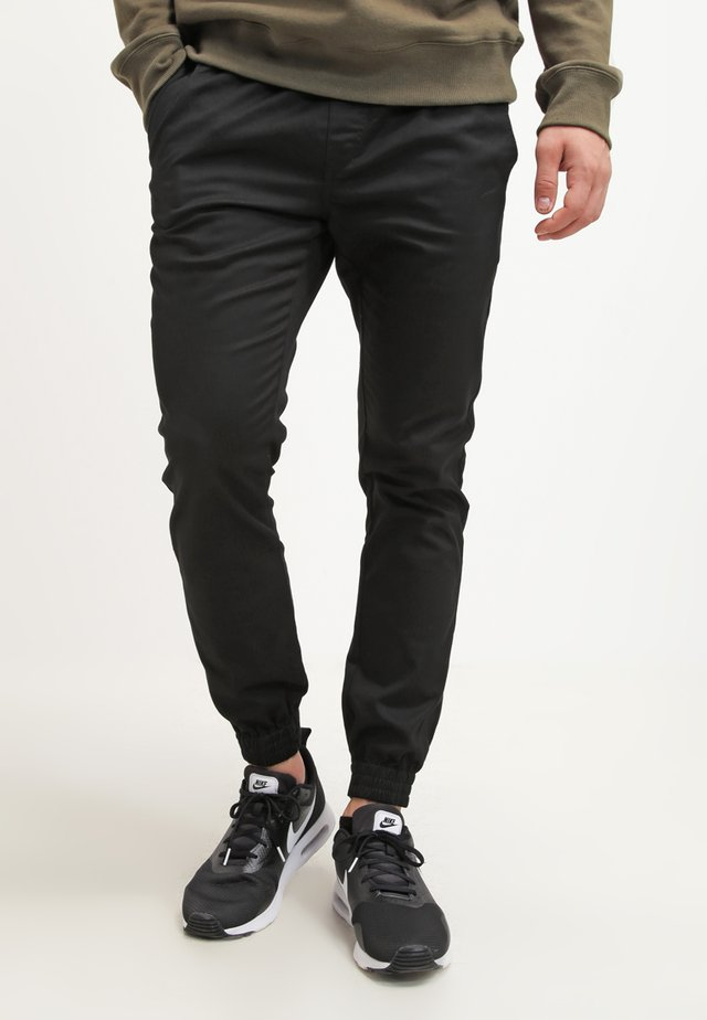 FRICKIN SLIM FIT - Trousers - black