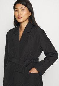 ONLY - OLMTRILLION LONG COATIGAN - Classic coat - black - 5