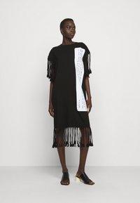 MM6 Maison Margiela - Jersey dress - black - 0