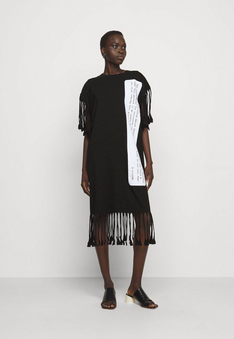 MM6 Maison Margiela - Jersey dress - black