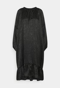 OBJELISABETH DRESS - Denní šaty - black