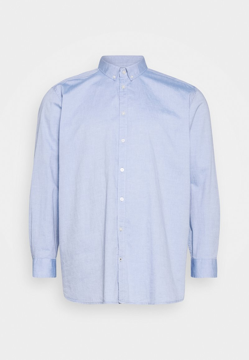 TOM TAILOR MEN PLUS - OXFORD BASIC - Overhemd - light blue oxford