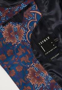 Topman - PRINTED TROUSER - Oblekové kalhoty - multi - 4
