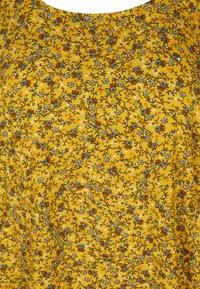 Zizzi - Day dress - yellow ditsy flower - 5