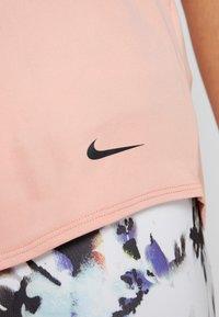 Nike Performance - DRY TANK ELASTIKA - Sports shirt - pink quartz/black - 4