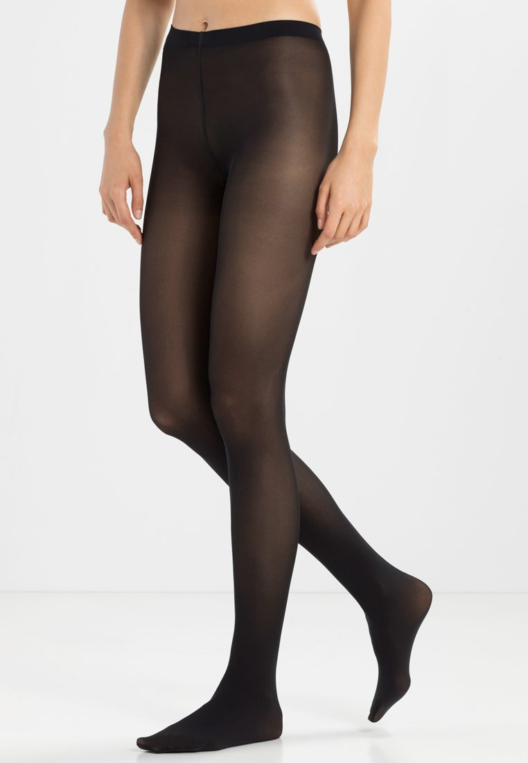 FALKE - FALKE Pure Matt 50 Denier Strumpfhose Halb-Blickdicht matt - Tights - black