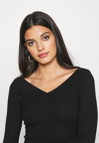 Even&Odd - JUMPER DRESS - Etuikjole - black - 3