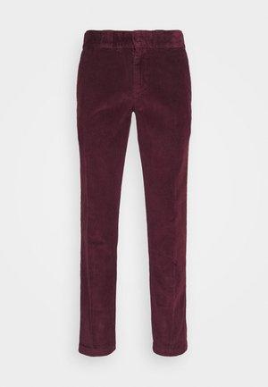 FORT POLK - Trousers - maroon