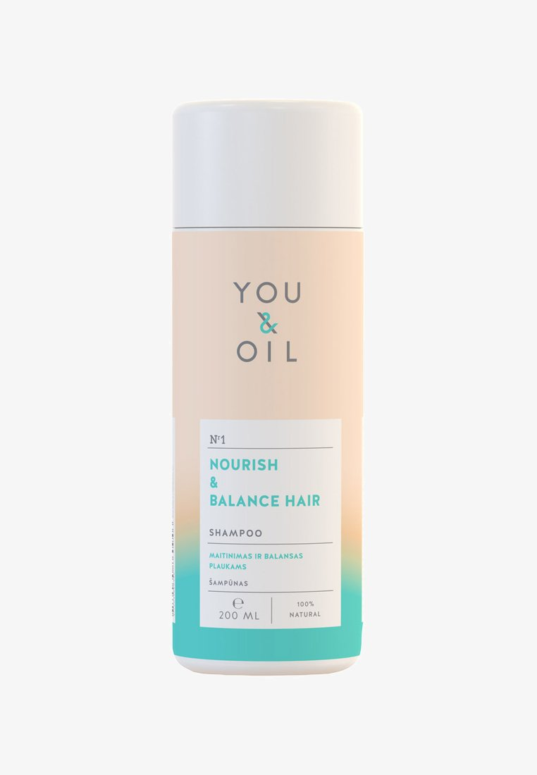 YOU & OIL - SHAMPOO NOURISH & BALANCE FOR HAIR  - Shampoo - -
