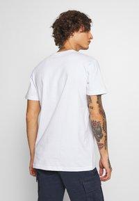 Urban Classics - INKA PATTERN TEE - Print T-shirt - white - 2