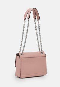 Calvin Klein - RELOCK FLAP XBODY - Handbag - blush - 1