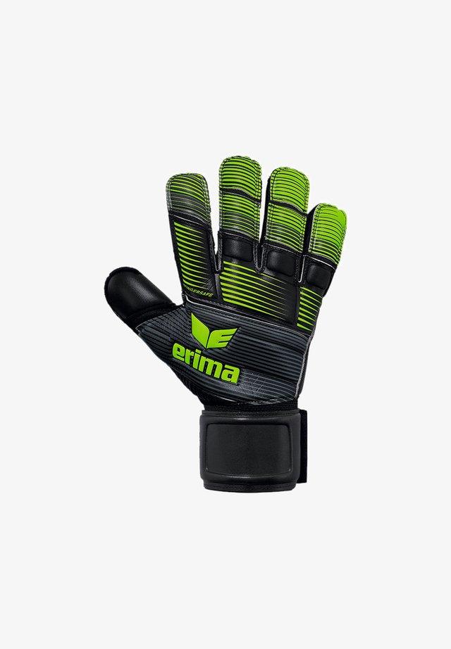 SKINATOR HARDGROUND TW-HANDS - Goalkeeping gloves - schwarzgruen