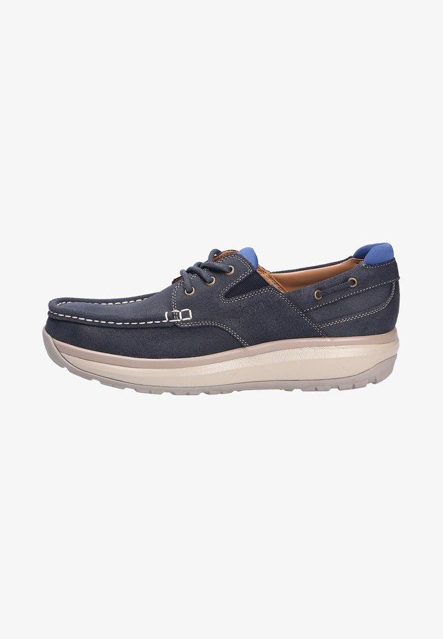 COMFORT - Sportieve veterschoenen - blau