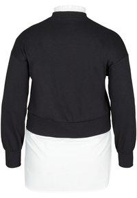 Zizzi - WITH A SEWN-IN - Sweatshirt - black - 4