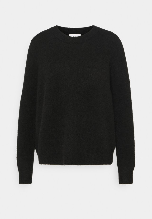 OBJNETE  - Jersey de punto - black