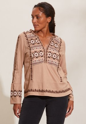 TRINITY - Blouse - soft taupe