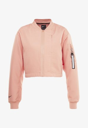 TECH PACK BOMBER - Kurtka sportowa - pink quartz/black