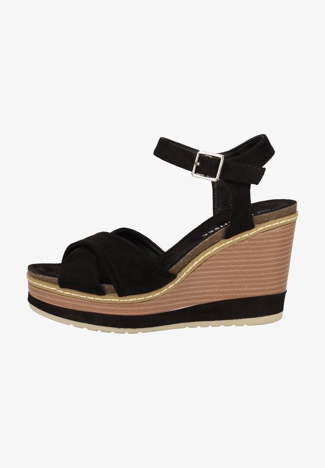 SANDALEN - High heeled sandals - black