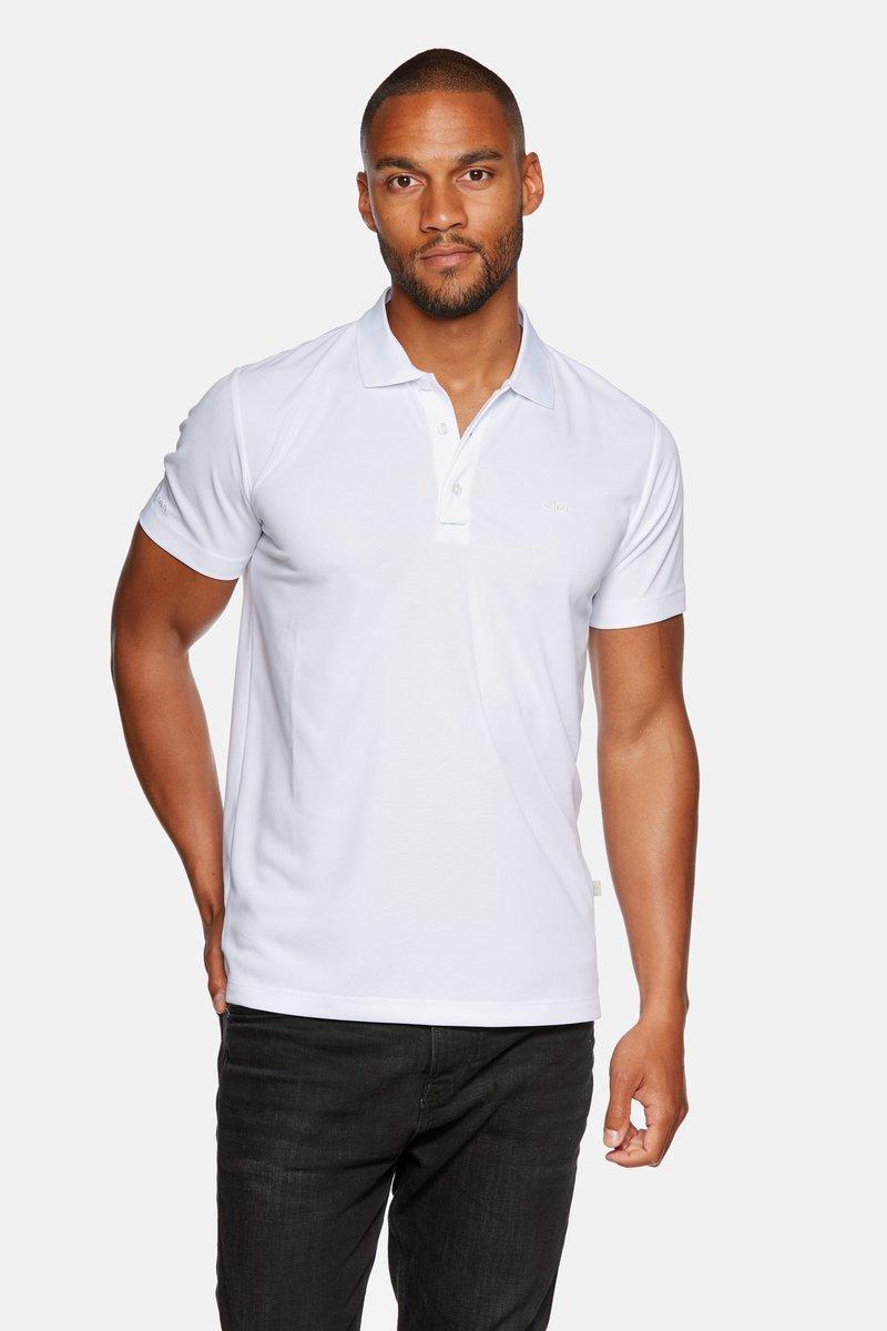 Jeff Green - ECLIPSE - Poloshirt - white