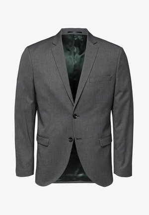 SLIM FIT - Giacca - dark grey melange
