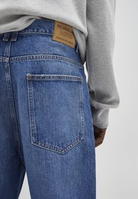 PULL&BEAR - Jeans relaxed fit - mottled blue - 4