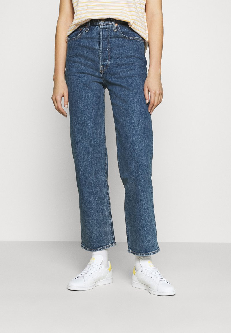 Levi's® - RIBCAGE STRAIGHT ANKLE - Jeansy Straight Leg - georgie