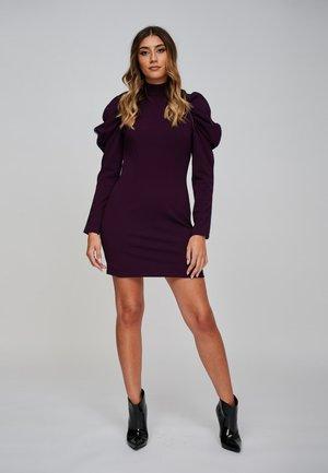 Etui-jurk - dark purple
