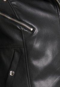 Vero Moda - VMHOPE COATED JACKET - Bunda zumělé kůže - black - 5