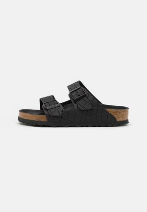 ARIZONA MONO UNISEX - Klapki - black