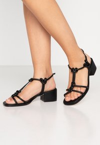 Head over Heels by Dune - JIJI - Sandals - black - 0