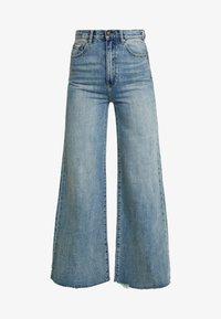 ZIGGY Denim - SWEEP - Flared Jeans - clear waters kilter - 3