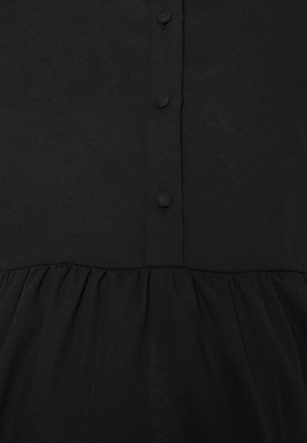 Pieces Maternity PCMLULLA - Bluzka - black/czarny NAYV