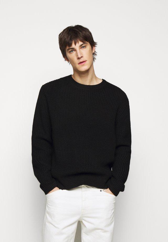 PUFFIN - Pullover - black
