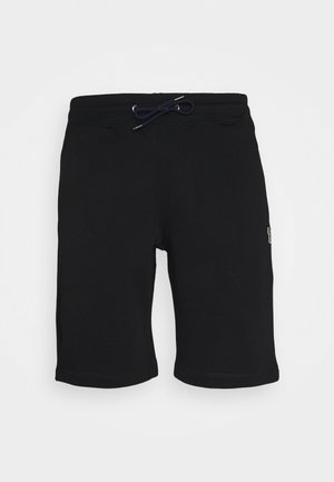 REGULAR FIT - Tracksuit bottoms - black