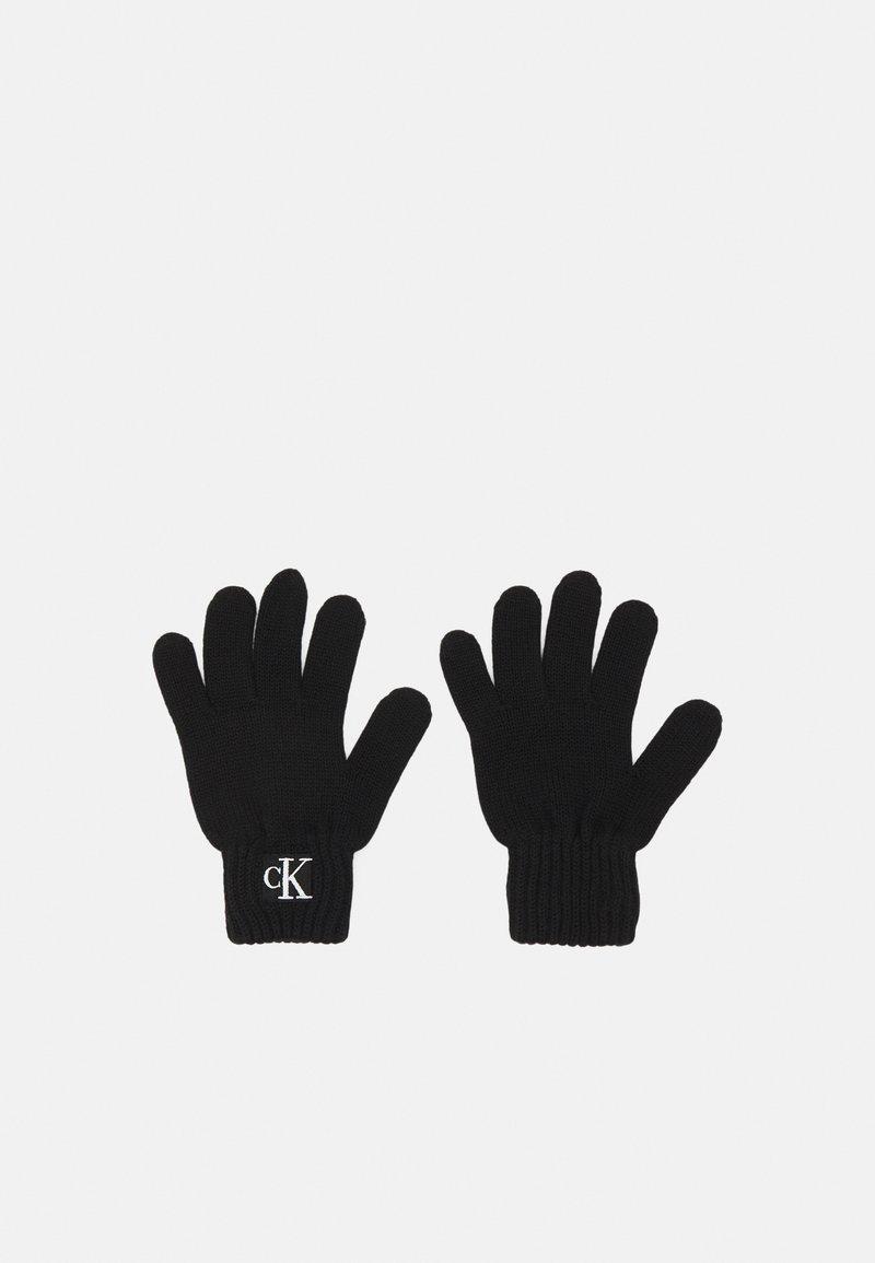 Calvin Klein Jeans - MODERN ESSENTIALS GLOVES UNISEX - Rukavice - black