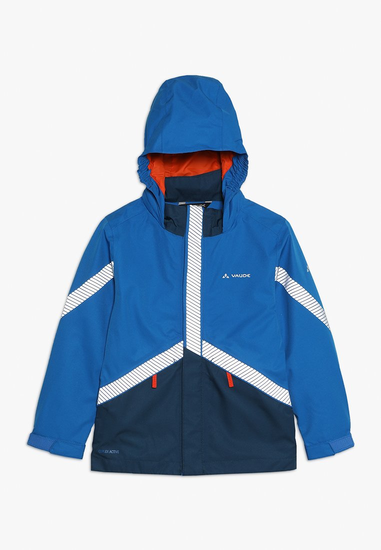 Vaude - KIDS LUMINUM JACKET - Waterproof jacket - radiate blue