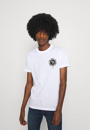 EXCLUSIVE ZEBRA - Print T-shirt - white
