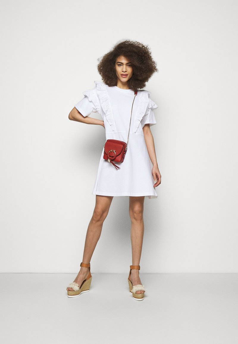 See by Chloé - JOAN Joan camera bag - Across body bag - faded red